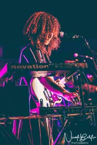 Jackie Venson at Antone's on Dec. 16. Photo by Nicole Berlin Photography