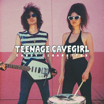 Teenage Cavegirl album cover