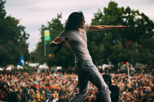 K. Flay. Photo by Sydney Gawlik for ACL Fest.