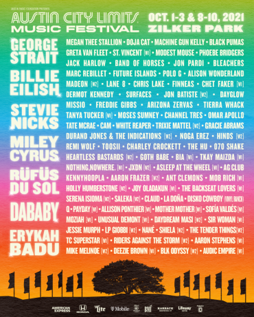 ACL lineup 2021